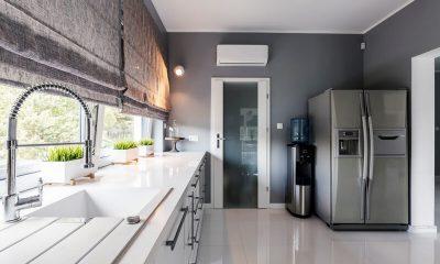 panoramisch raam keuken