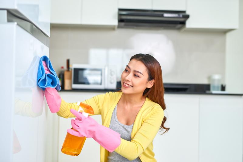 keuken poetsen