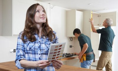 verven van de keuken