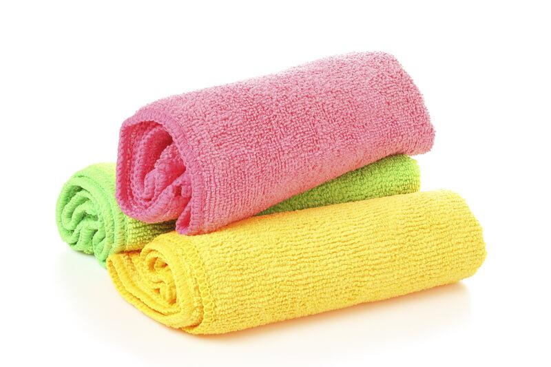 microvezeldoekjes wassen